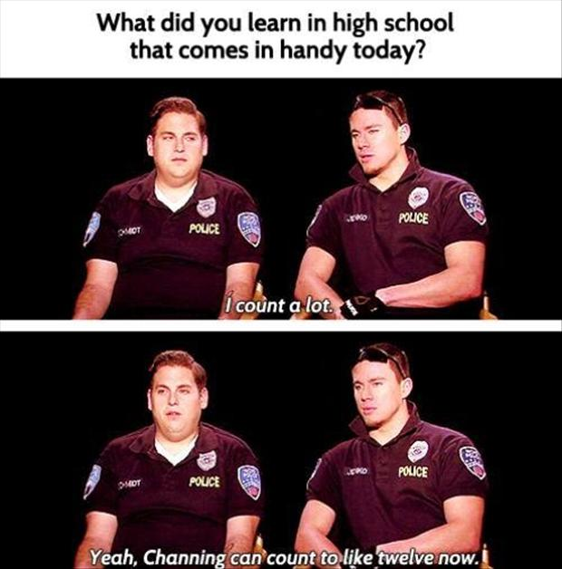 funny pictures, 21 jump street, channing and jonus