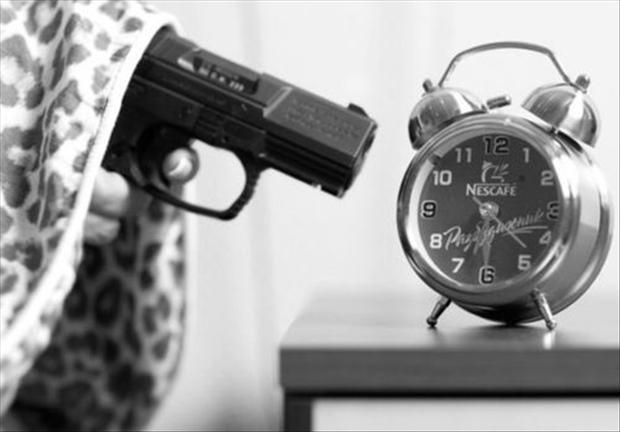 funny pictures, alarm clocks