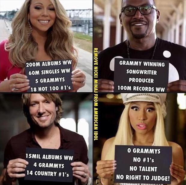 funny pictures, american idol judges
