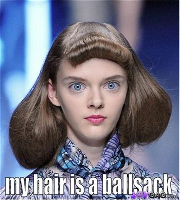 funny pictures, ball sack hair