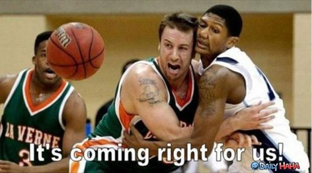 funny pictures, basketball players