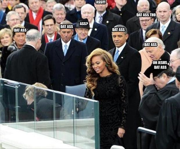 funny pictures, beyonce, dat ass