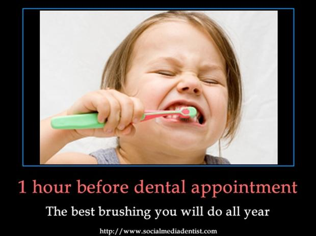 Funny Pictures Brushing Your Teeth