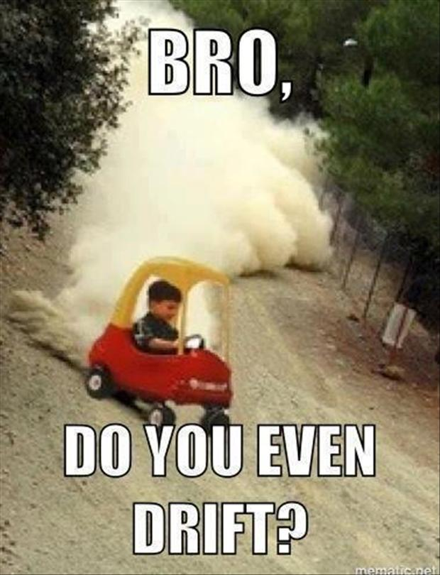 funny pictures drifting