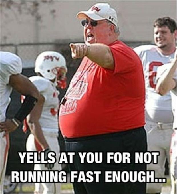 Funny Pictures Football Coach