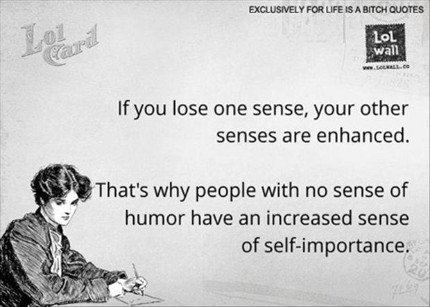 funny pictures, loose your senses
