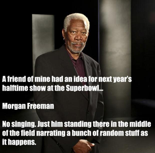 funny pictures, morgan freeman