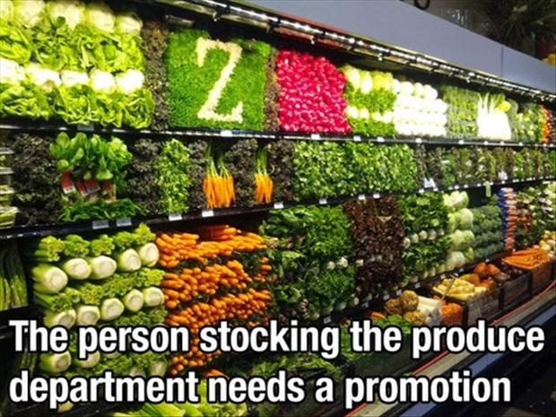 funny pictures, produce
