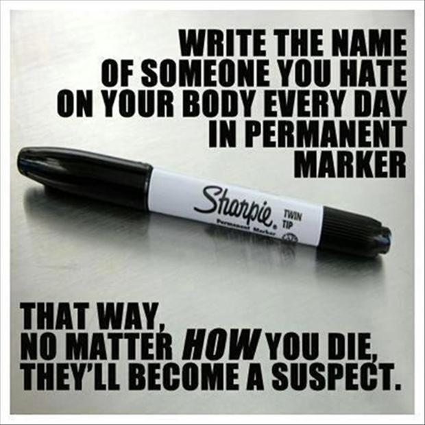 funny pictures, sharpie