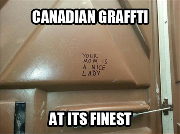 Funny pictures writing on bathroom walls dump a day for Bathroom funny videos