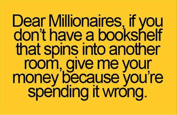 funny quotes, million dollars
