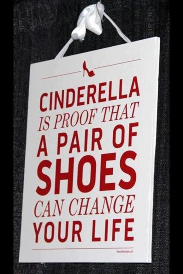 funny signs, shoes