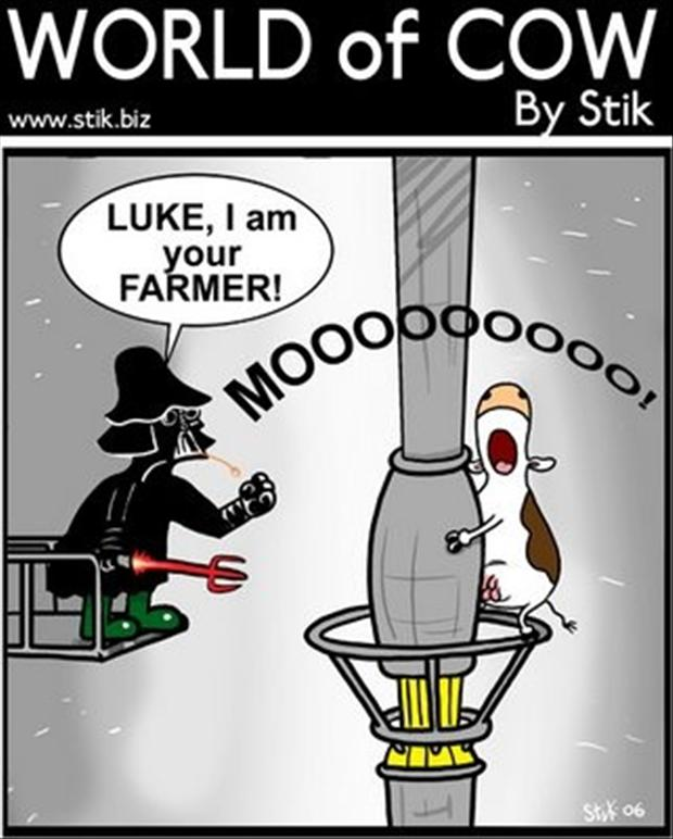 May The Fourth Be With You Cartoon: Funny Pictures
