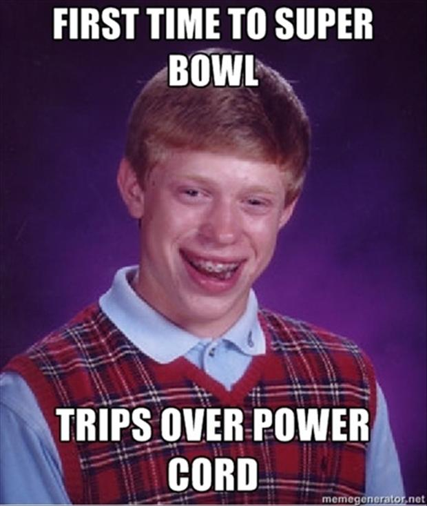 funny super bowl pictures, power off