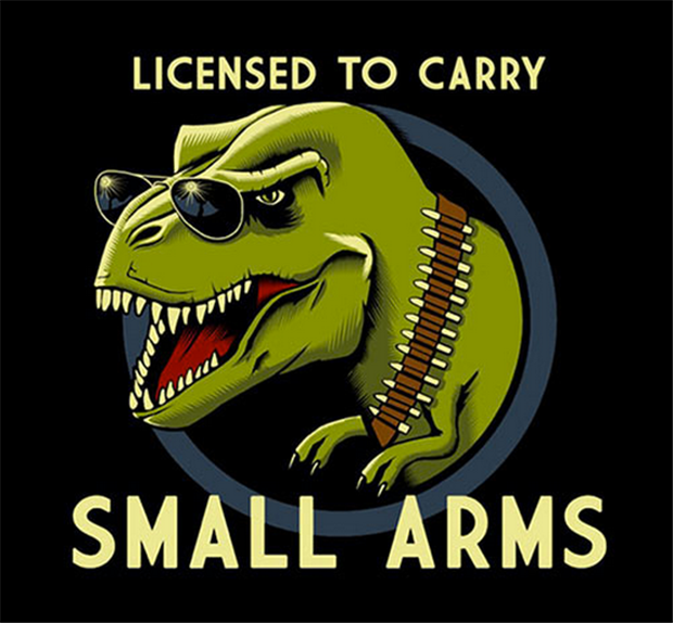 funny t rex arms