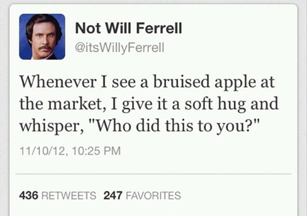 funny tweets, apples