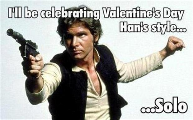 funny valentine's day pictures, star wars