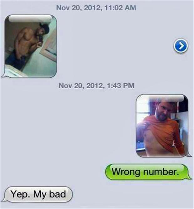 funny wrong number