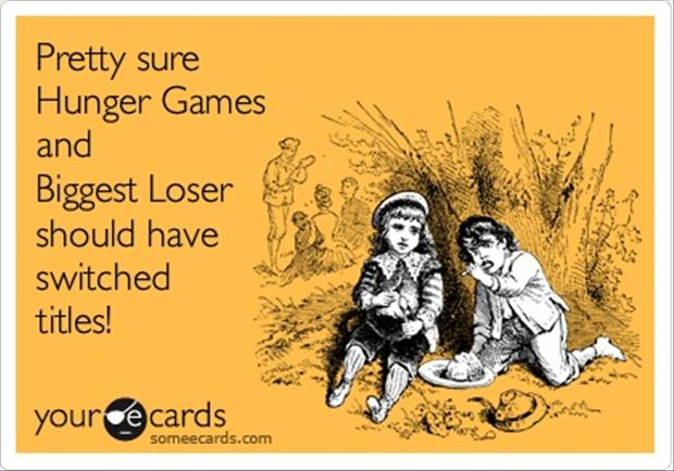 Hunger Quotes Cool Hunger Games Biggest Loser Funny Quotes  Dump A Day