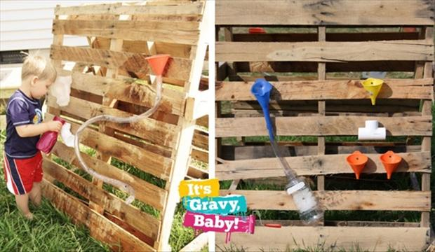 kid toys, old pallets