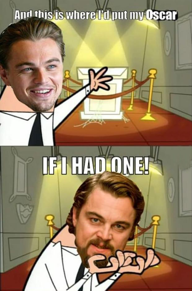 leo has no oscar funny pictures