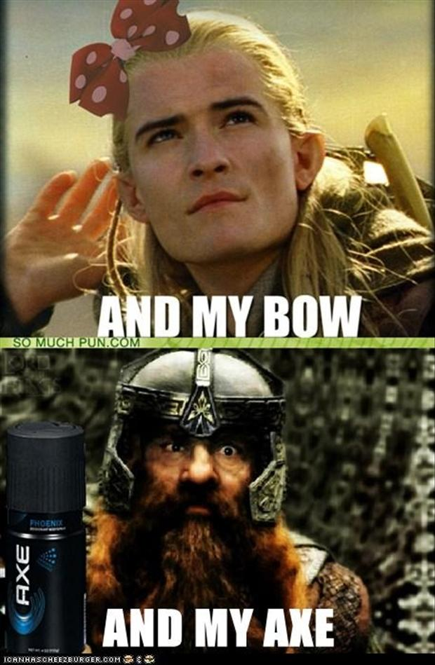 Good Lord Of The Rings, Funny Pictures,