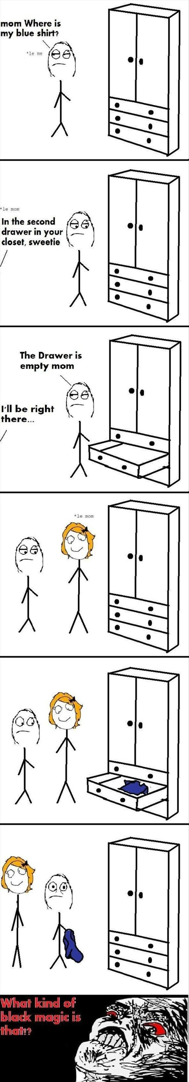 mom knows where things are funny rage comics