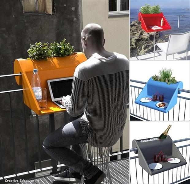 outdoor desk smart ideas
