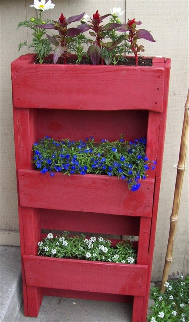 planter box, uses for old pallets