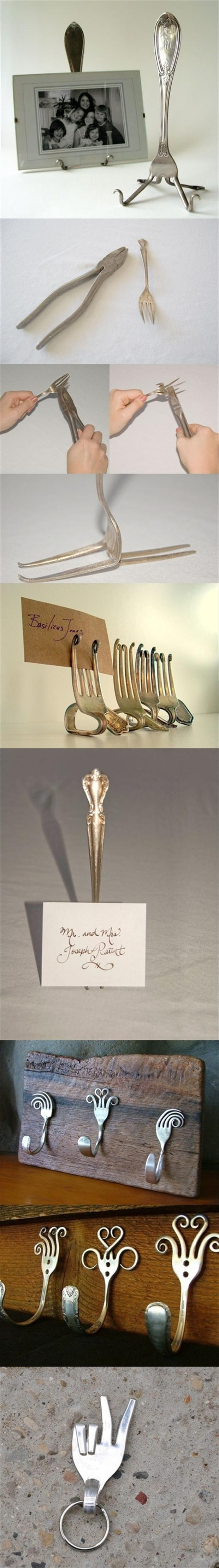 recycle old forks
