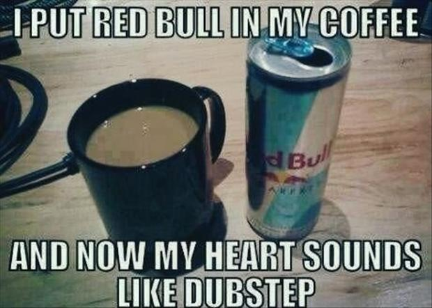 redbull in my coffee