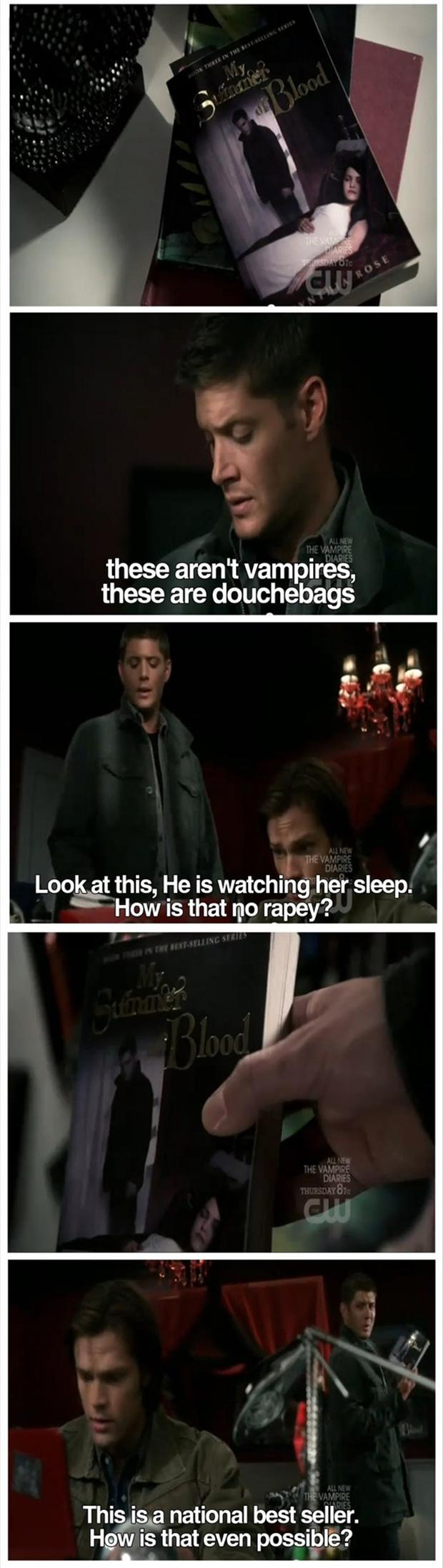 supernatural, funny pictures