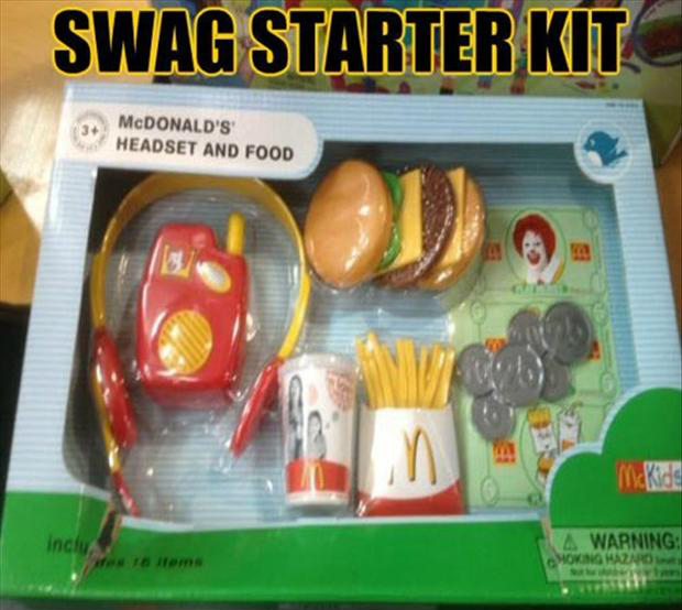swag starter kit, funny pictures