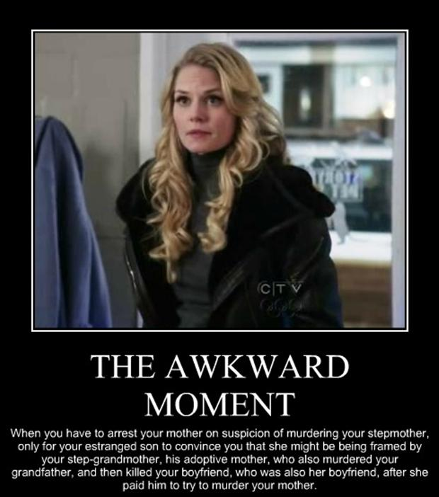 the awkward moment when, demotivational posters