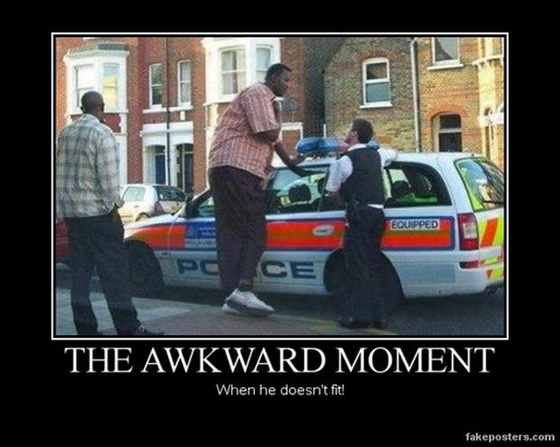 the awkward moment when, funny police pictures