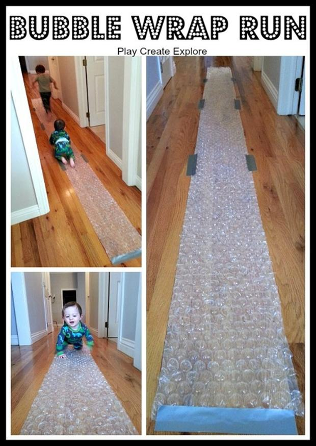 the bubble wrap run