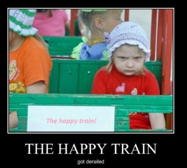 the happy train, funny pictures