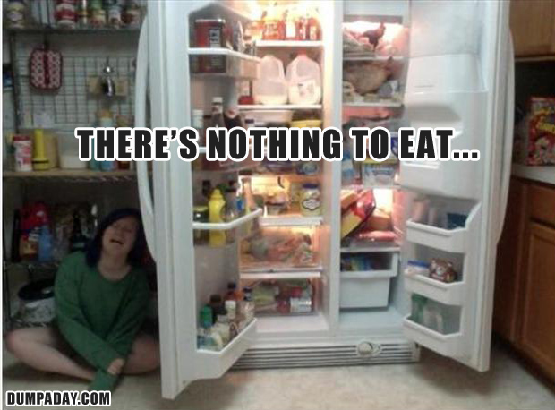 there is nothing to eat, funny pictures