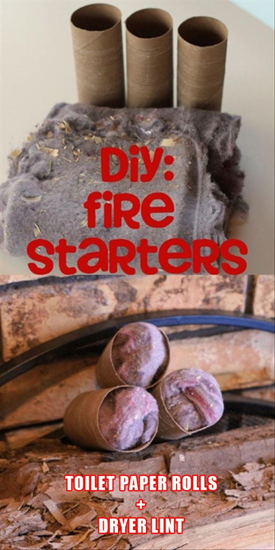 tip how to make fire starters