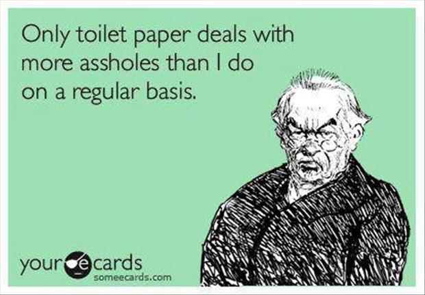 toilet paper, funny quotes