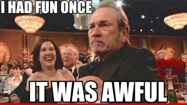 tommy lee jones, grumpy old man