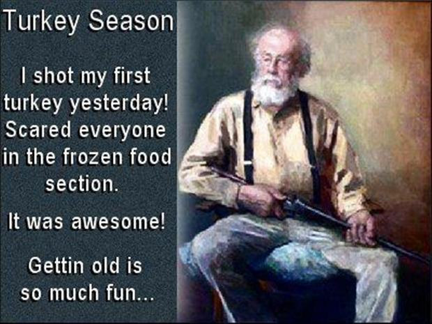 turkey season, funny pictures