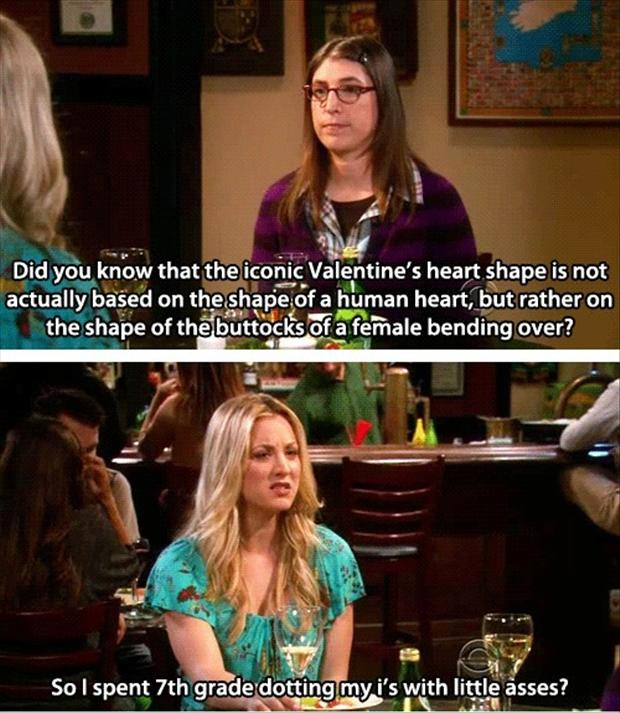 valentine's day, funny pictures, big bang theory