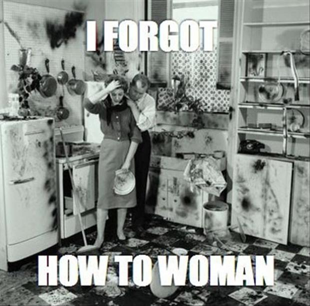 woman in the kitchen funny pictures