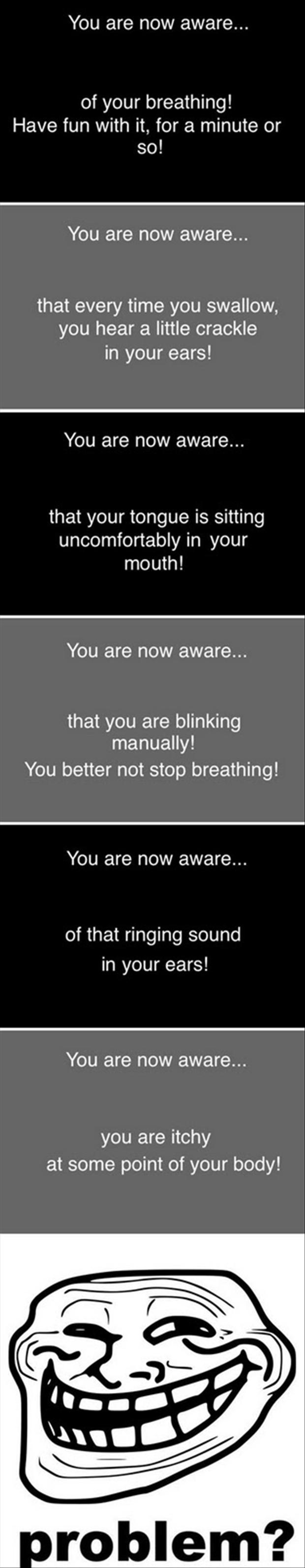 you are now aware, funny quotes