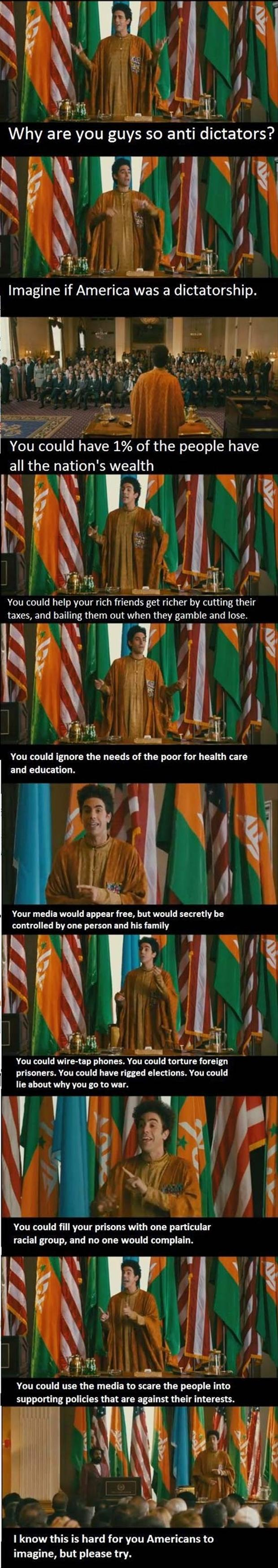 z funny pictures Imagine if America was a dictatorship