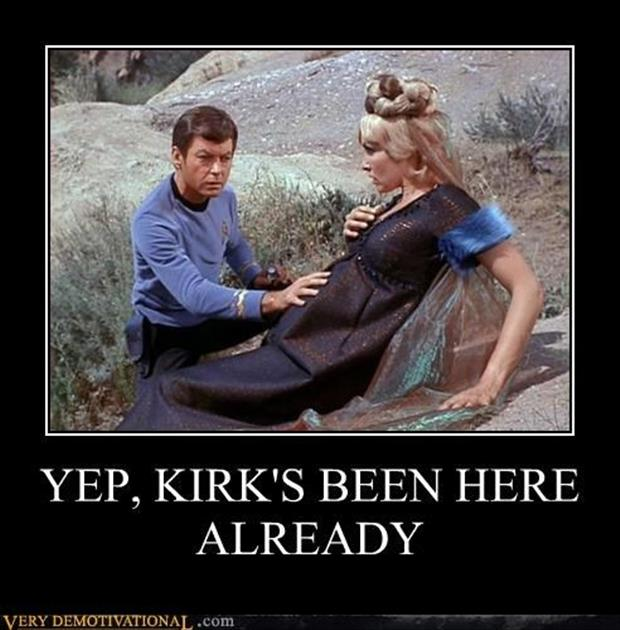 A james t kirk demotivational posters