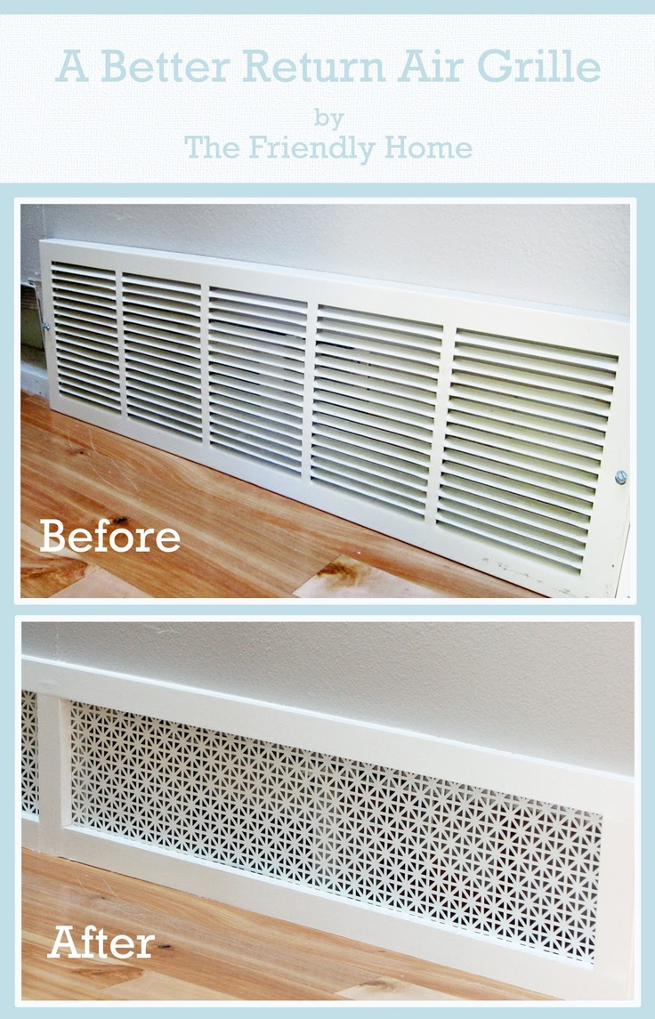 Amazing Easy DIY Home Decor Ideas- pretty air grill