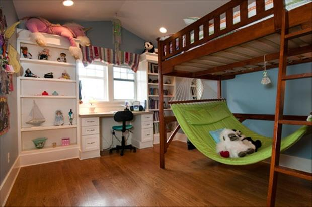 Awesome Kids Bedrooms Hammock Room Dump A Day