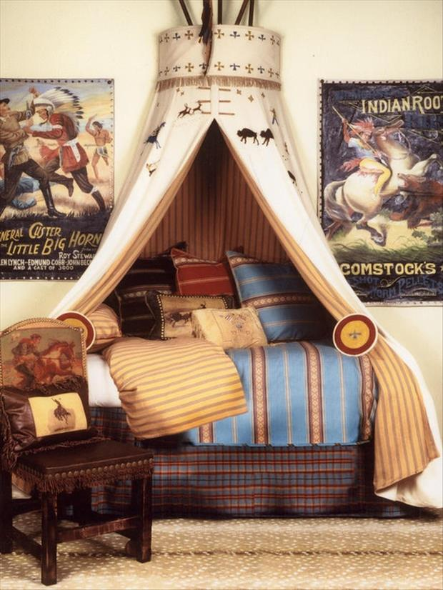 Awesome Kids Bedrooms - Indian themed room